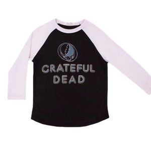 Grateful Dead Baseball Toddler Big Kid t shirt